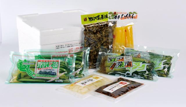 野沢菜6品セット