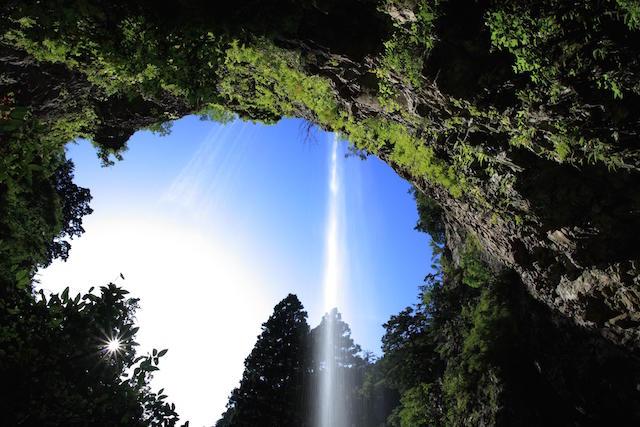 壇鏡の滝(