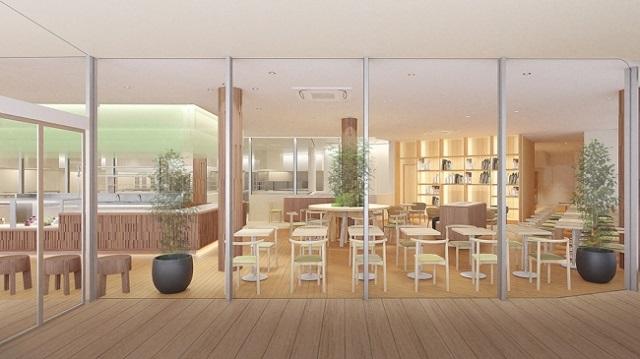 カフェ店内イメージ
