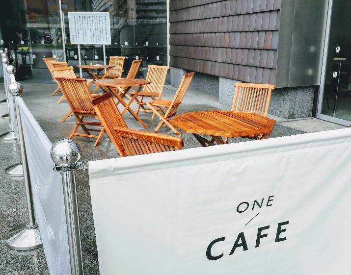 ONE CAFÉ! テラス席