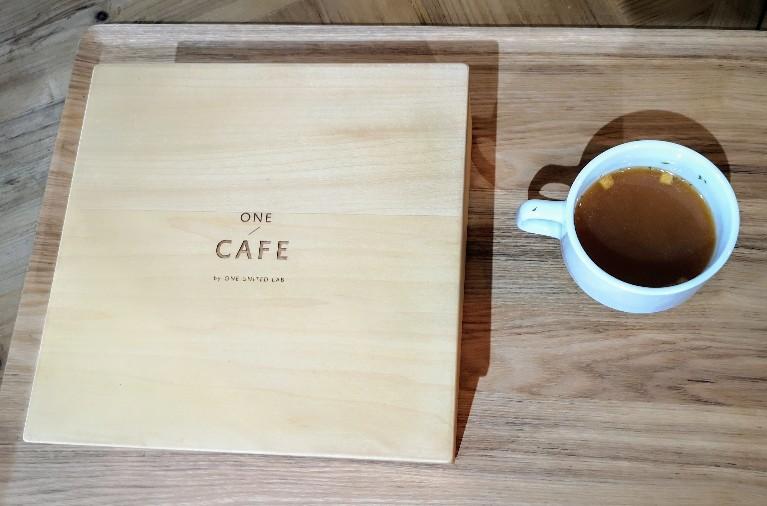 ONE CAFÉ! ランチ前菜とスープ