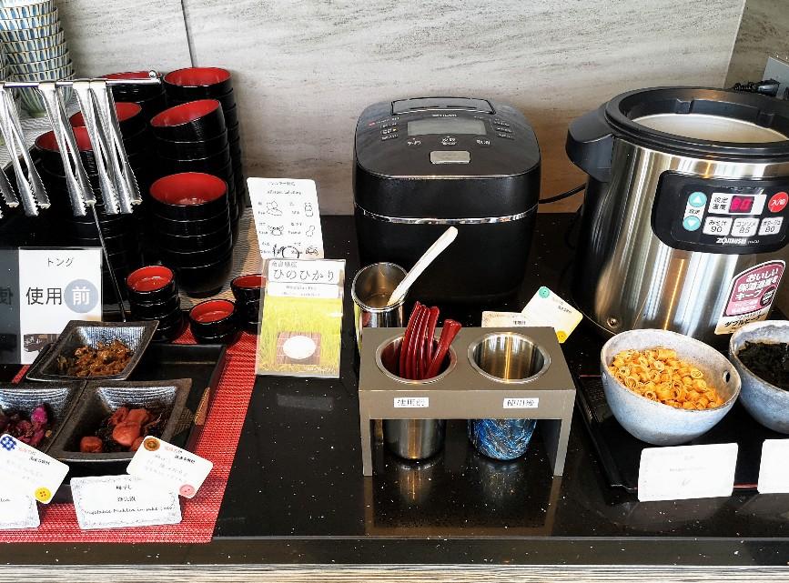 レストラン La Festa ご飯味噌汁台