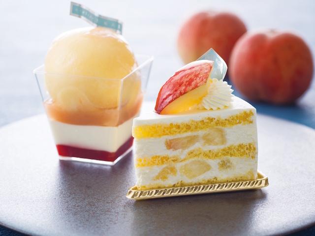 ピーチメルバ/プレミアム桃ショートケーキ