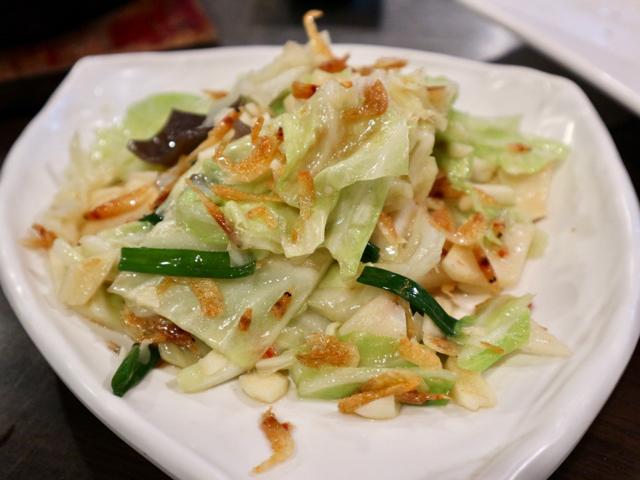 櫻蝦高麗菜