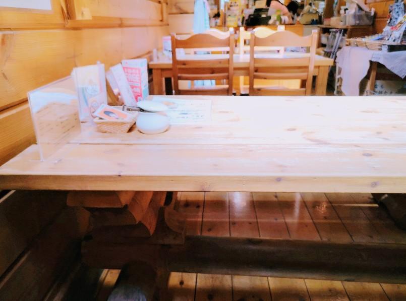 旬作菓子工房木風 喫茶スペース