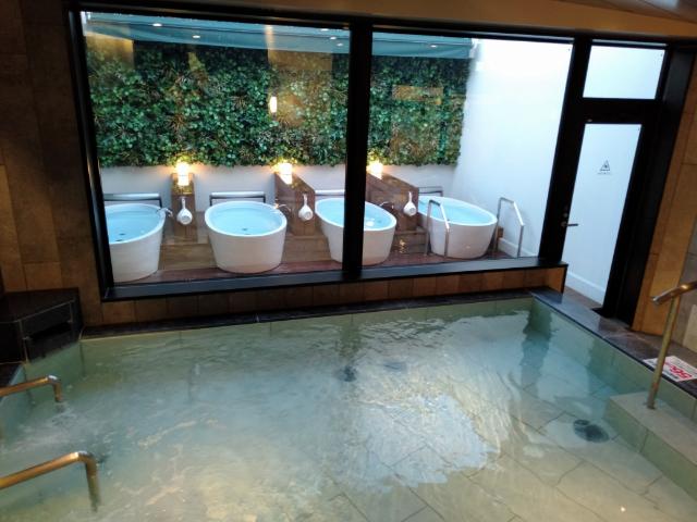 アスティルホテル十三プレシャス大浴場3