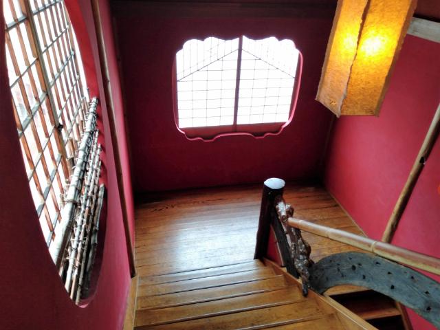 金具屋階段
