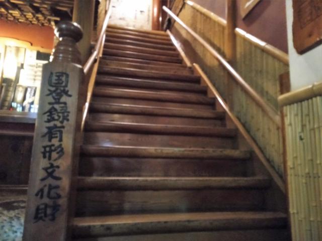 金具屋階段2