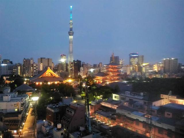 野乃浅草夜景