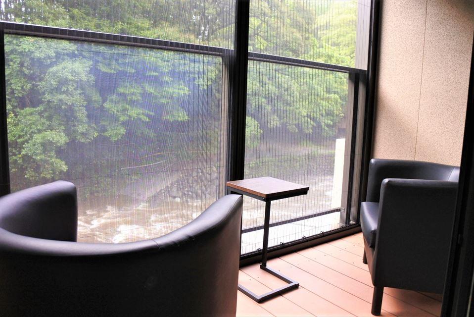 湯ヶ島たつた テラス
