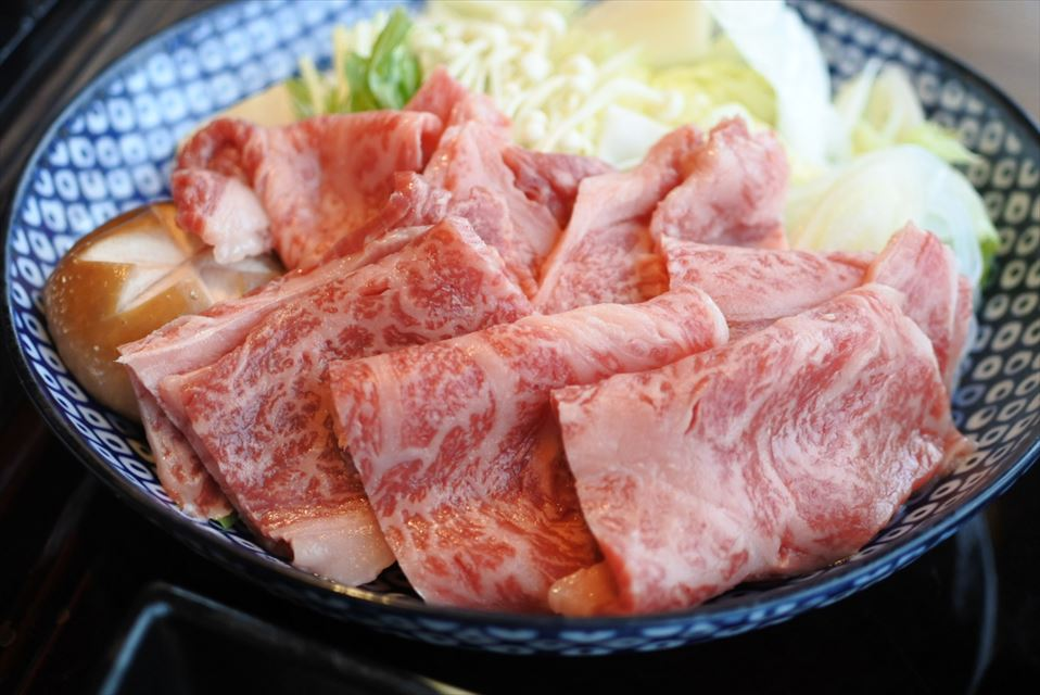妙高膳 村上牛のすき焼き