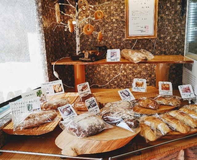 パン工房元 店内のパン