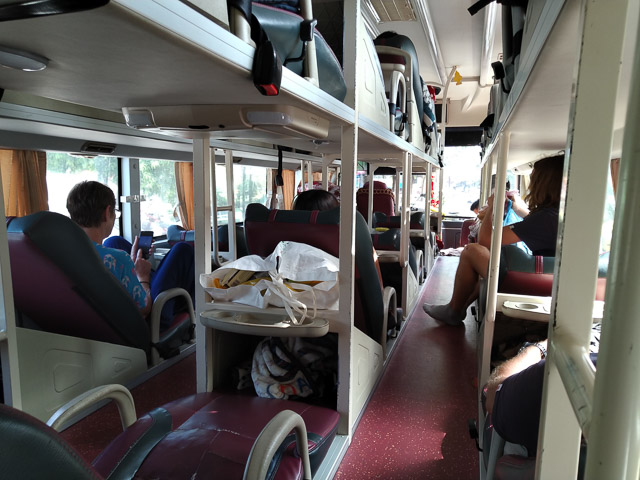 ベトナム寝台バス