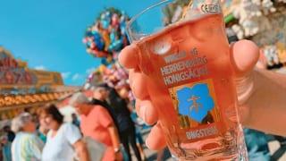 ワイングラス とお祭り