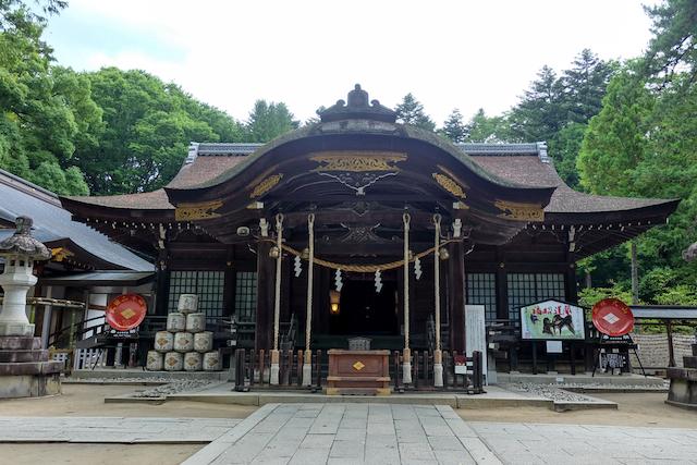 山梨県甲府市・武田神社