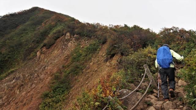 稜線をゆく