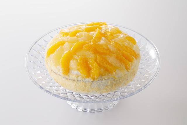 オレンジとグレープフルーツのトルテ