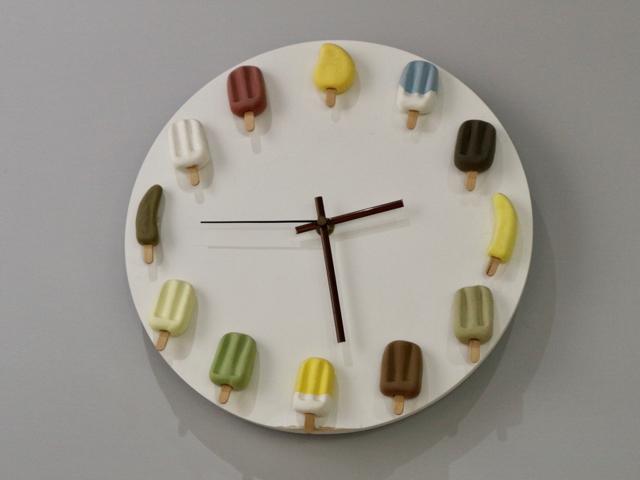 アイスキャンディの時計