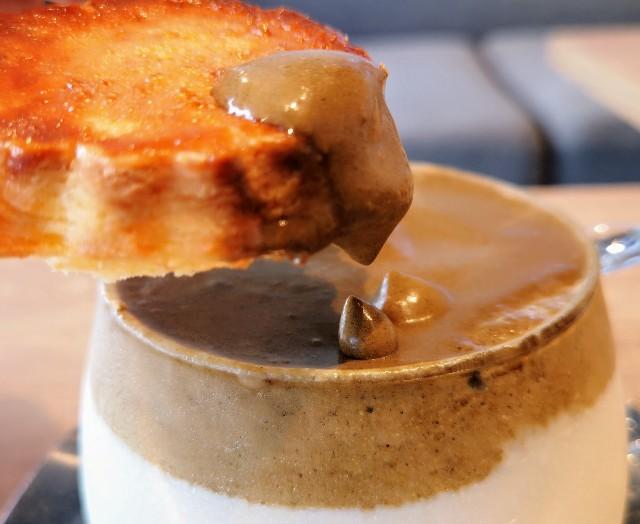 CHAVATY スコーンに茶葉ムースをディップ