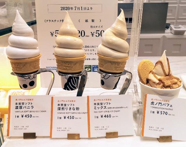 HONMIDO虎ノ門ヒルズ店限定スイーツ