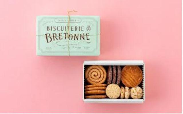 ビスキュイテリエ ブルトンヌ「ブルターニュ クッキーアソルティー缶」