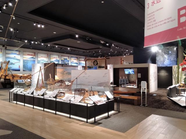 滋賀県立琵琶湖博物館B展示室4