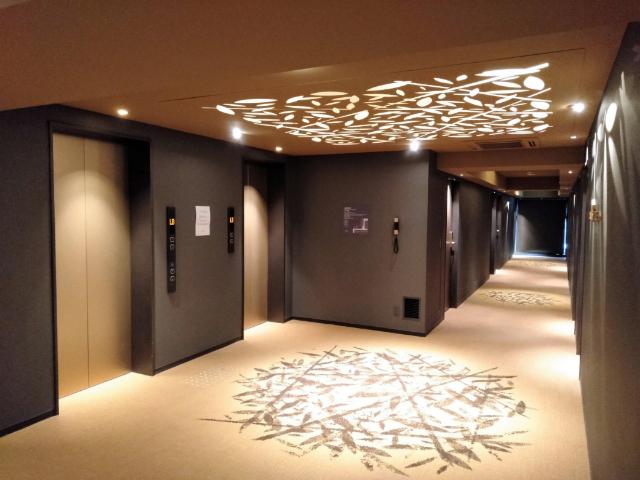 ロイヤルツインホテル京都八条口エレベーターホール