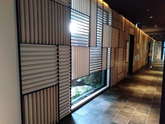 ロイヤルツインホテル京都八条口廊下
