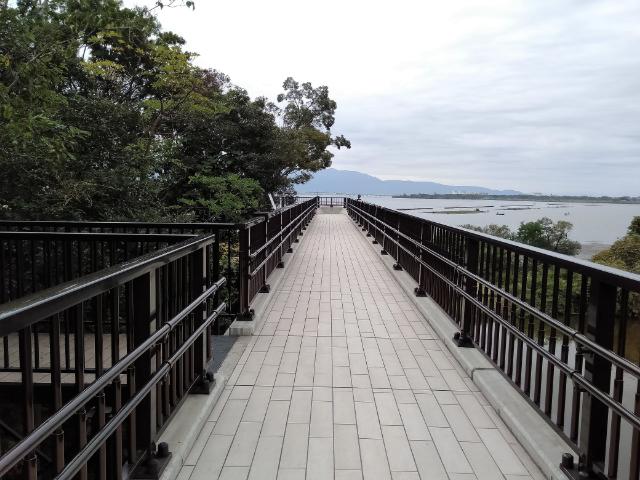 滋賀県立琵琶湖博物館空中遊歩道