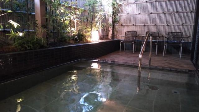 ロイヤルツインホテル京都八条口露天風呂
