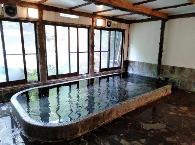 塔ノ沢一の湯本館温泉