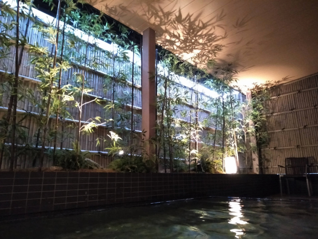 ロイヤルツインホテル京都八条口露天風呂3