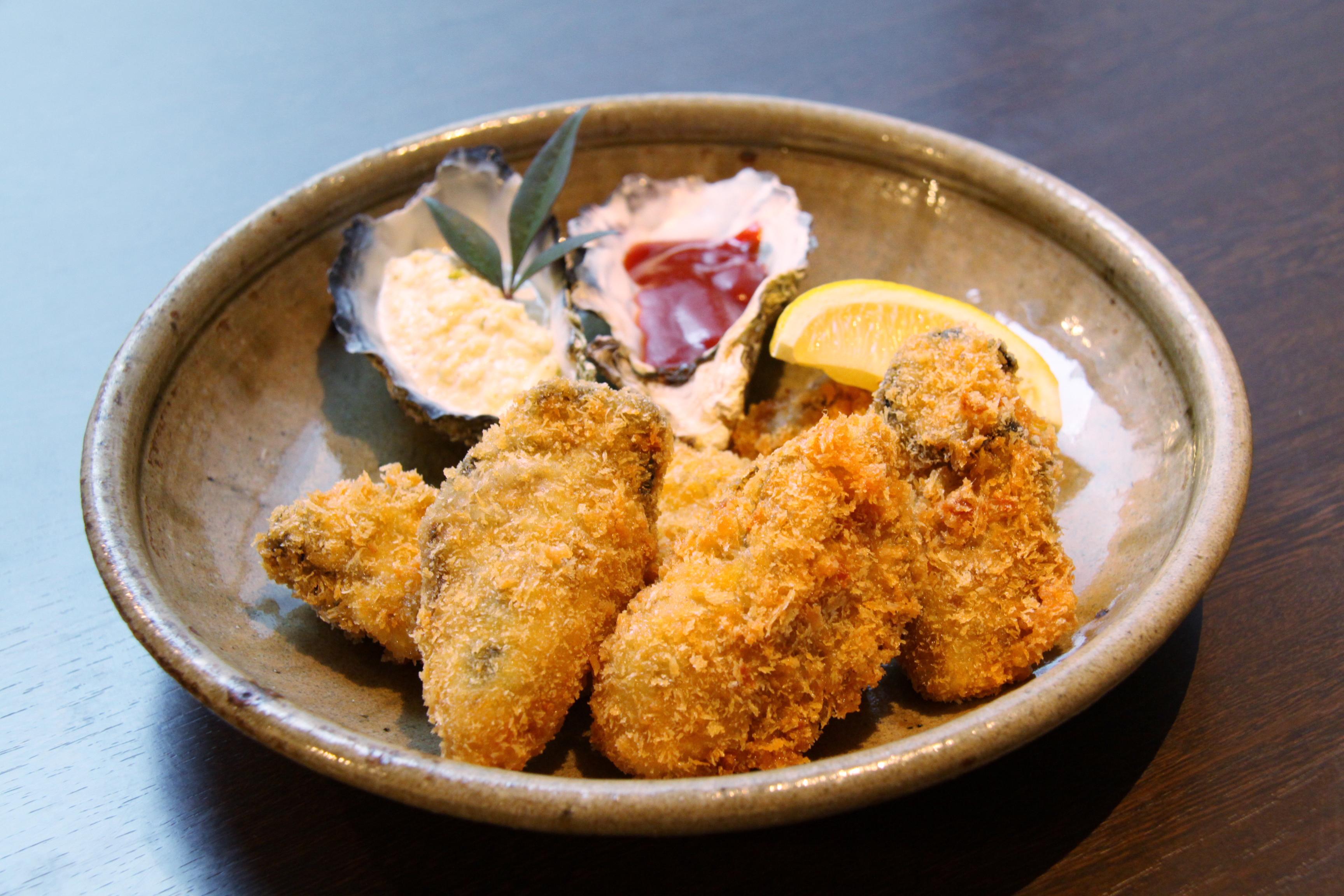 宮島 牡蠣フライ