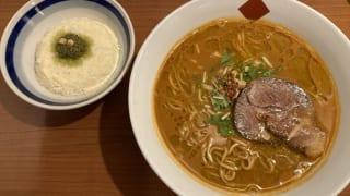 東京の中華そば ちよがみ「トリュフ・海老だしらー麺 〆のバジル・リゾットつき」