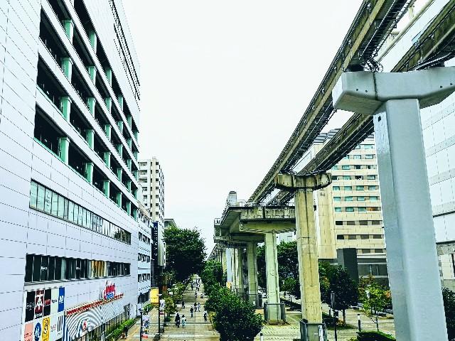 東京さんぽ・立川 立川駅北口からの眺め