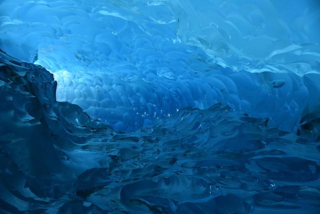 アメリカ・アラスカ州・メンデンホール氷洞