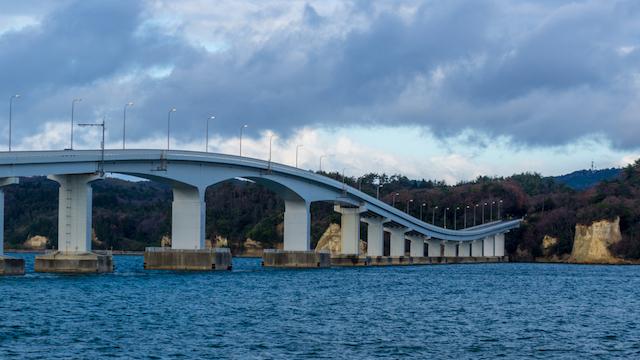 石川県・能登島大橋