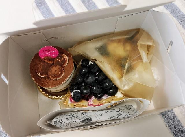 奈良市・GLUTEN FREE is THE NEW BLACK・購入したケーキ