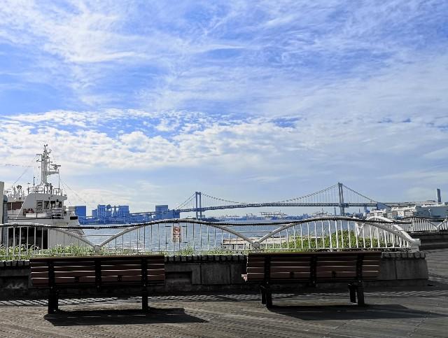 東京都・竹芝ふ頭からの眺め