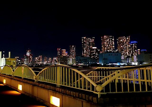 東京都・竹芝ふ頭の夜景