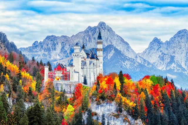 ドイツの古城