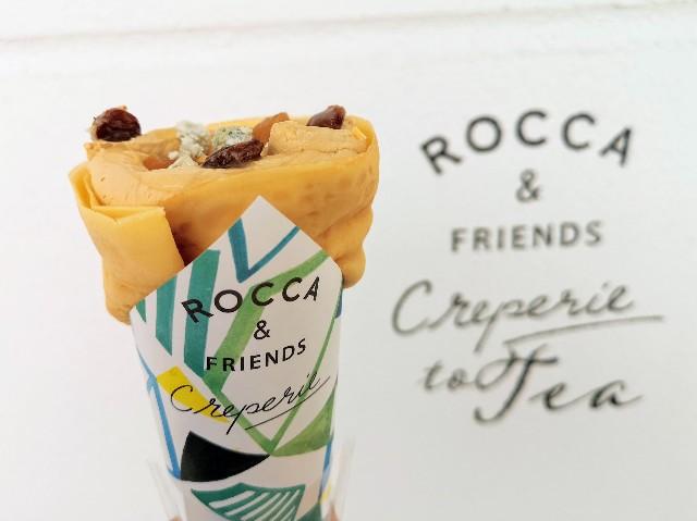 神奈川県横浜市・「ROCCA&FRIENDS CREPERIE to TEA横浜店」蜂蜜ブルーチーズ