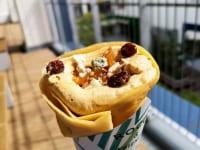 神奈川県横浜市・「ROCCA&FRIENDS CREPERIE to TEA横浜店」蜂蜜ブルーチーズクレープ