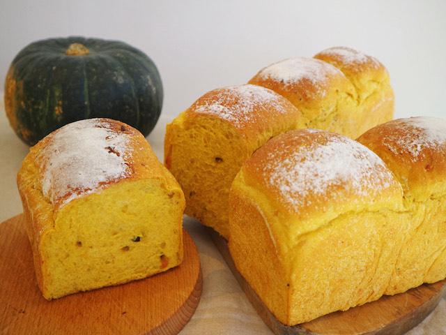 北海道かぼちゃ食パン