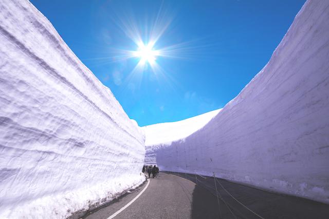 富山県・立山黒部アルペンルート