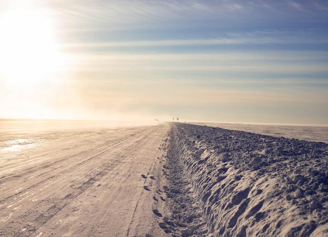 カナダ・ノースウエスト準州のアイスロード