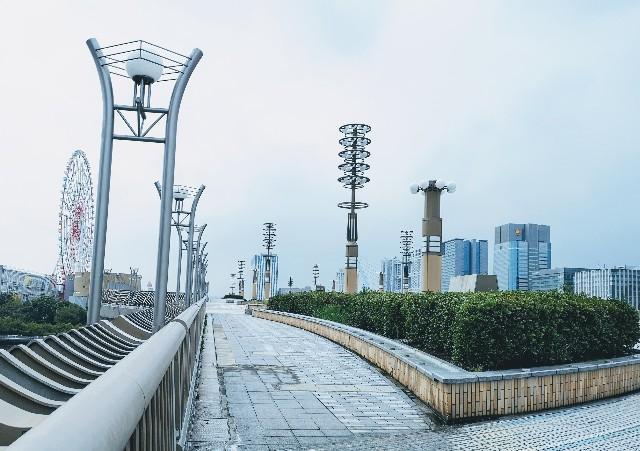 東京都お台場・「夢の大橋」