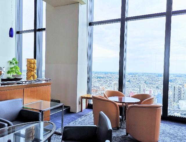 埼玉県浦和・ロイヤルパインズホテル浦和19階トップラウンジの眺め「」