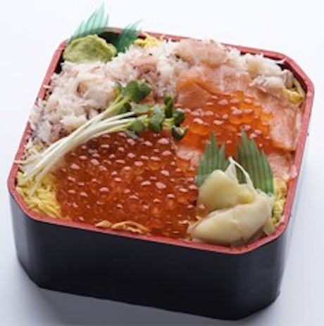〈知床鮨〉三色チラシ
