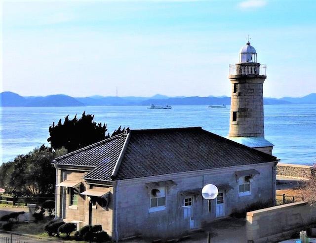 日本の灯台50選「男木島灯台」(高松市)